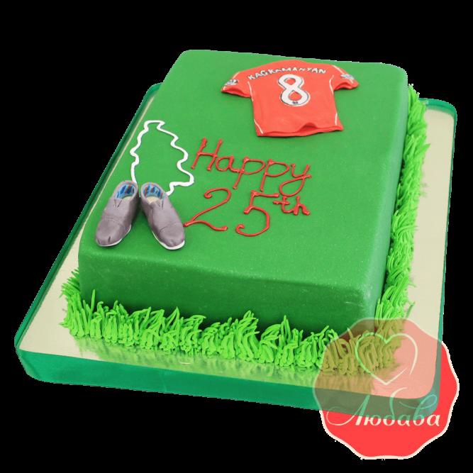 Торт для футболиста №1412