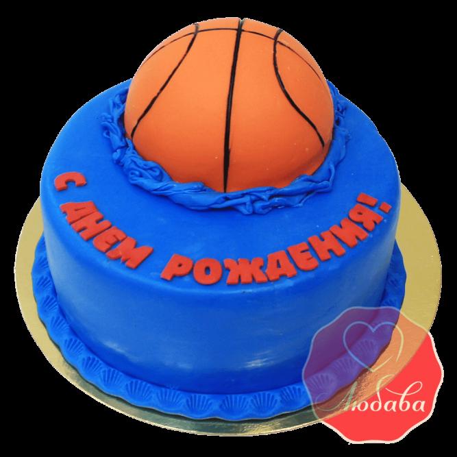 Торт баскетбольный №1413