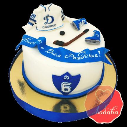 Торт для хоккеиста Динамо №1414