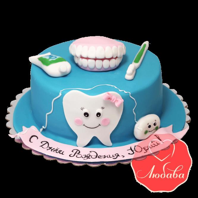 Торт для стоматолога №1419