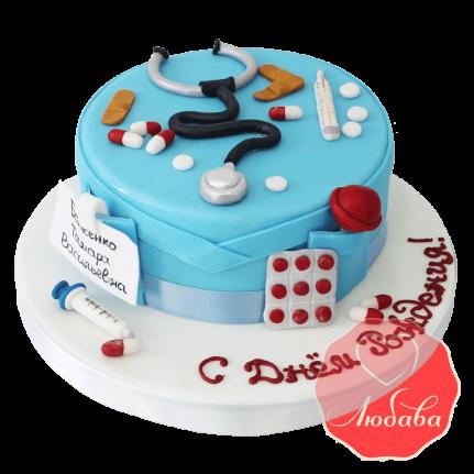 Торт врачу №1425