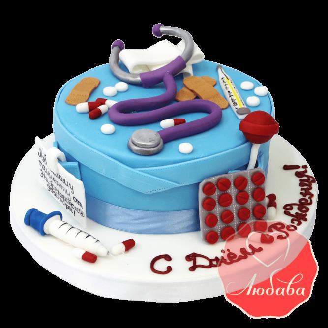 Торт врачу №1427