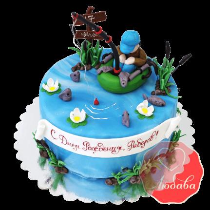 Торт рыбаку №1428