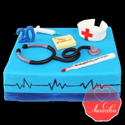 Торт врачу №1433