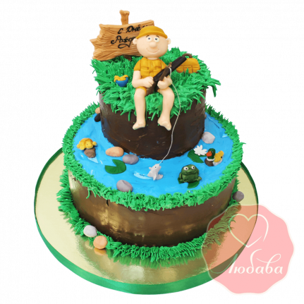 Торт рыбаку №1434