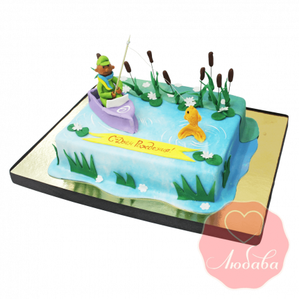 Торт рыбаку №1441
