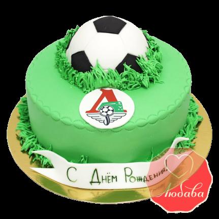 Торт футбольный Локомотив №1442