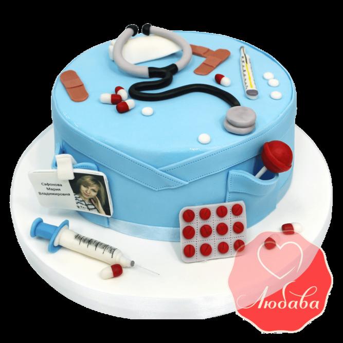 Торт врачу №1443
