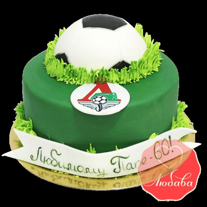 Торт футбольный Локомотив №1445