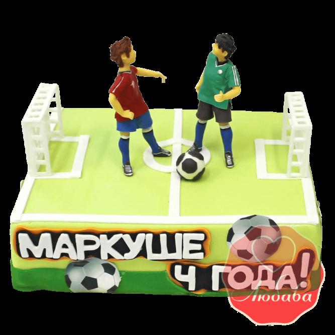 Торт с футболистами №1451