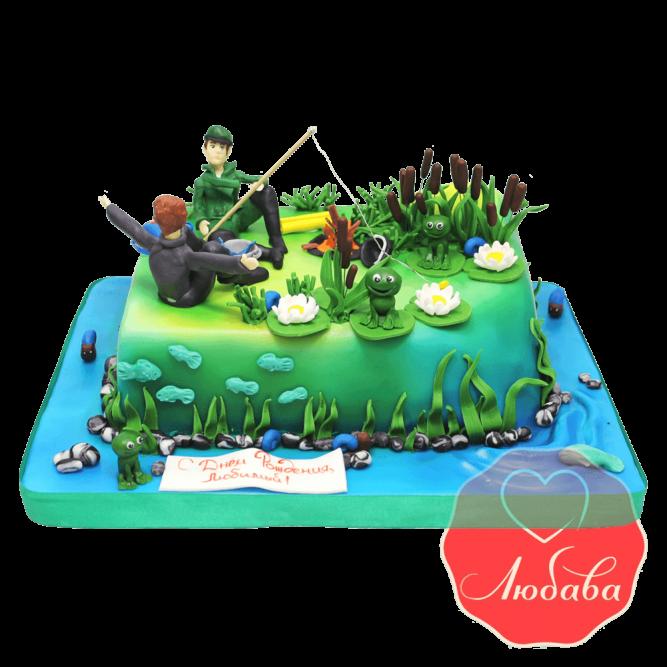 Торт рыбаку №1454