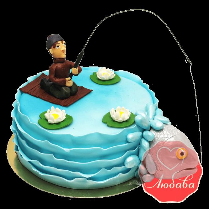 Торт с рыбой рыбаку №1455