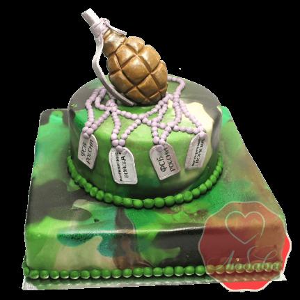 Торт с гранатой ФСБ России №1487