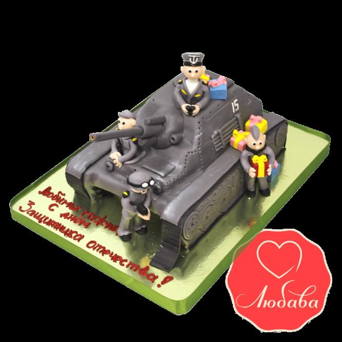 Торт танкисту №1489