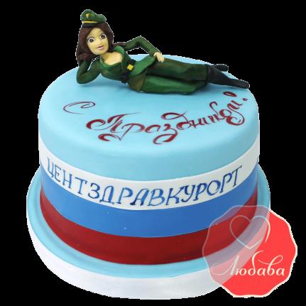 Торт на 23 февраля №1490