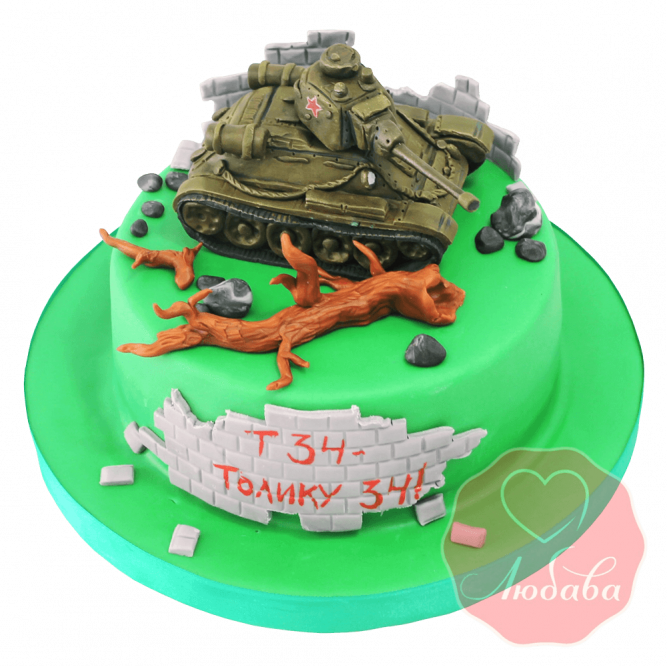 Торт танк Т-34 №1492