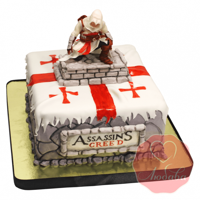 Торт детский assassin's creed №1500