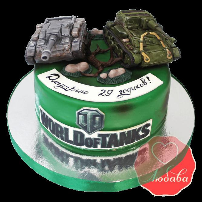 Торт world of tanks (ворлд оф танк) №1501