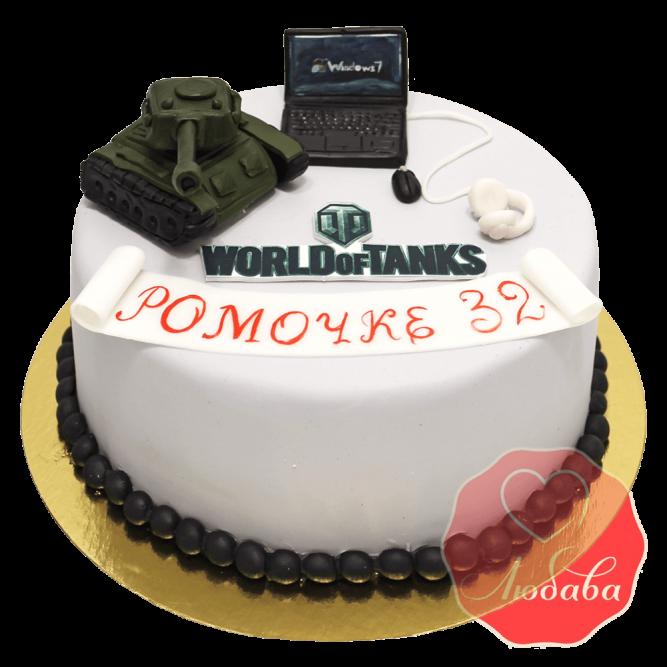 Торт world of tanks (ворлд оф танк) №1506