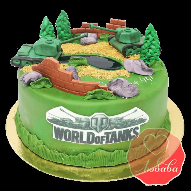 Торт world of tanks (ворлд оф танк) №1511