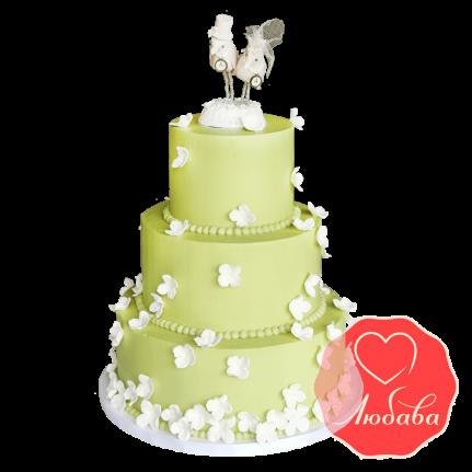 Свадебный Торт с птицами №1522