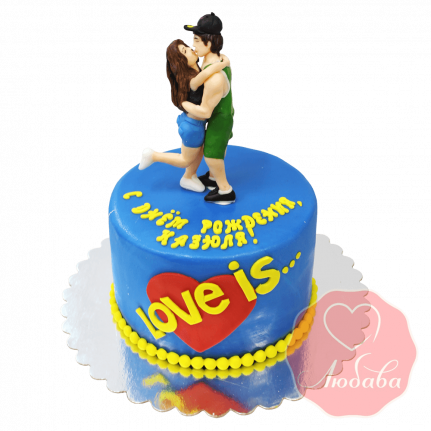 Торт Лав-из (Love is) №1552