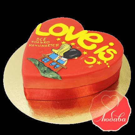 Торт Лав-из (Love is) №1556