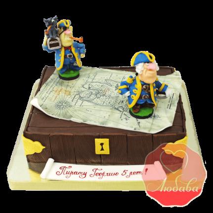 Торт детский Остров сокровищ №1595