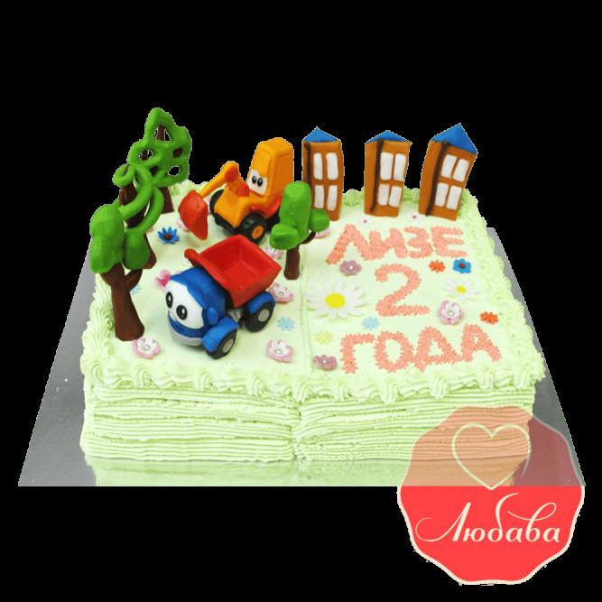 Торт детский Книга с игрушками №1635
