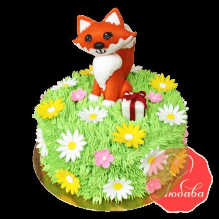 Торт детский Лиса №1637