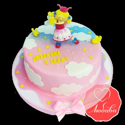Торт детский Принцесса на облаках №1661