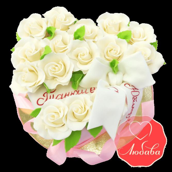Торт Чайные розы №1662