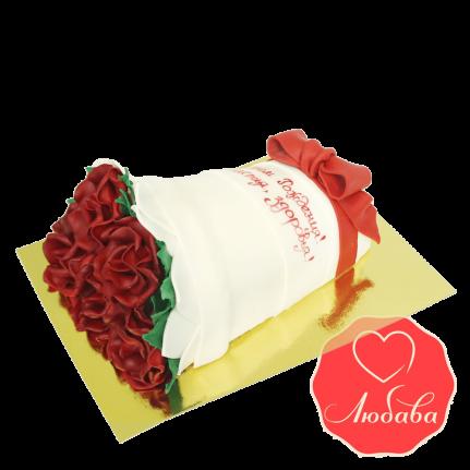 Торт Букет из роз №1664