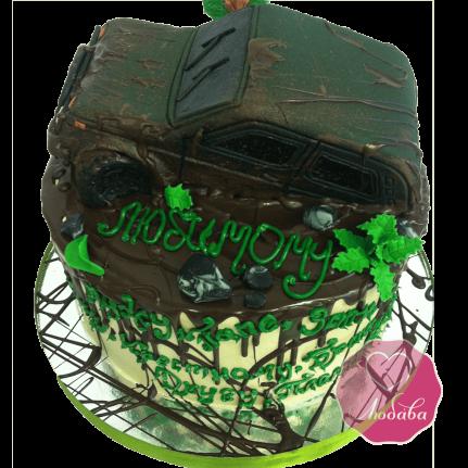 Торт внедорожник Нива №1668