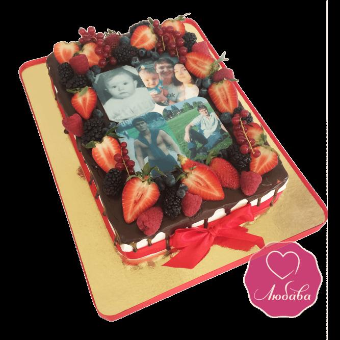 Ягодный торт с фото №1675