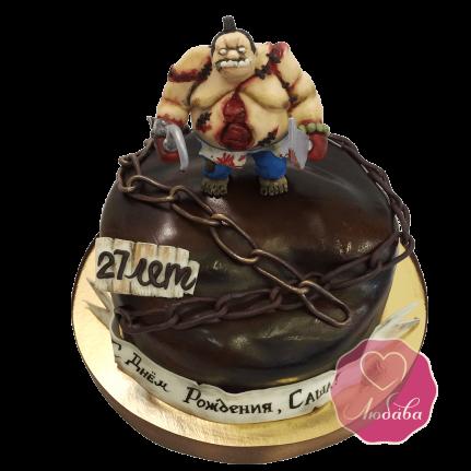 Торт DOTA Pudge №1686
