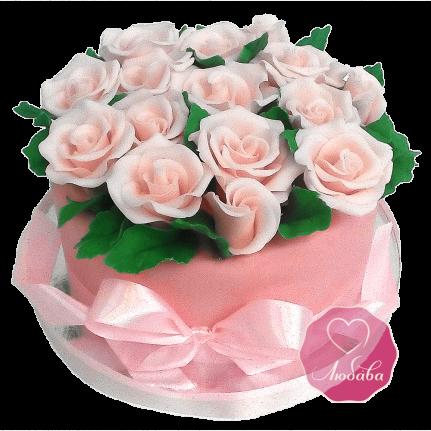Торт Букет роз №1688