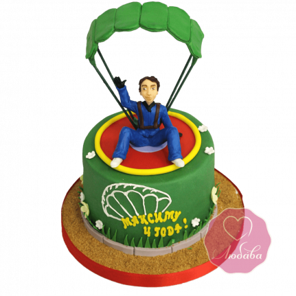Торт Парашютист №1689