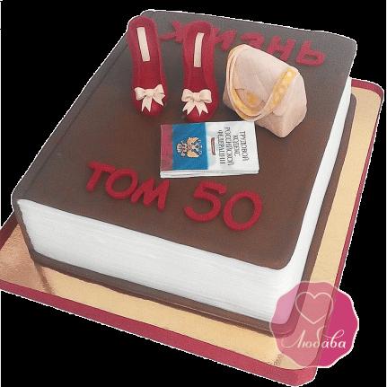 Торт на день рождения для женщины №1691