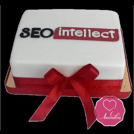 Торт корпоративный с логотипом №1695