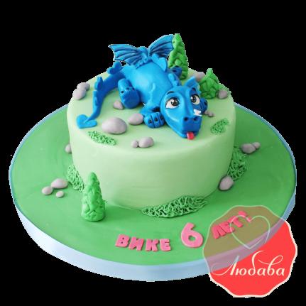 Торт детский Дракоша №1700