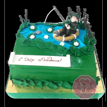 Торт для рыбака №1719