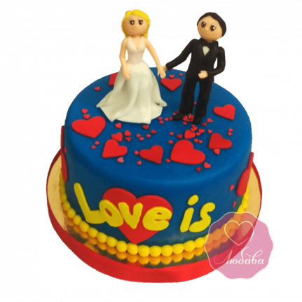 Торт Любовь это №1729