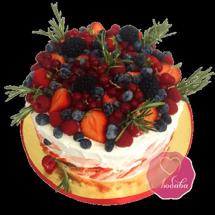 Торт ягодный №1732