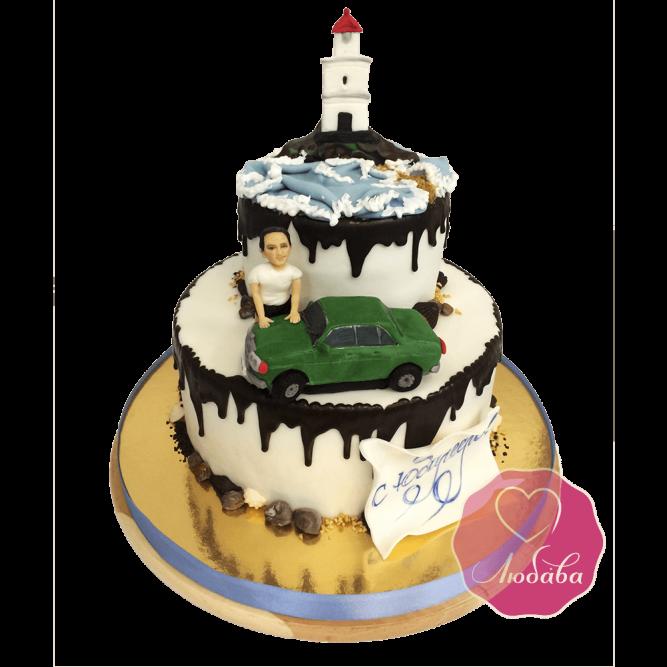 Торт на Юбилей Владивосток №1733