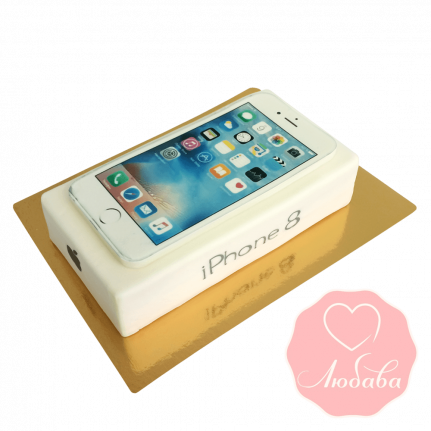 Торт iPhone 8 №1734