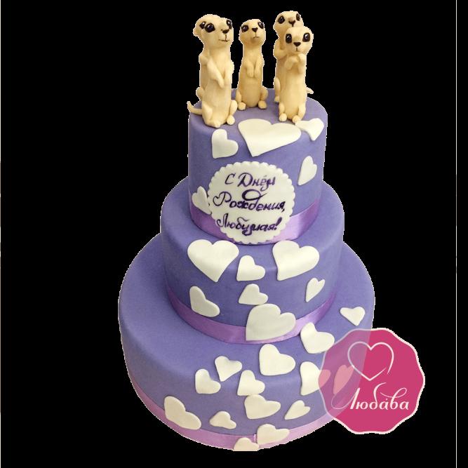 Торт праздничный Суслики №1737