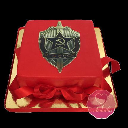 Торт КГБ ФСБ №1745