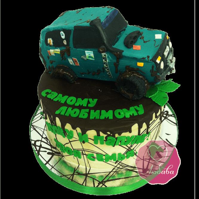 Торт внедорожник №1749