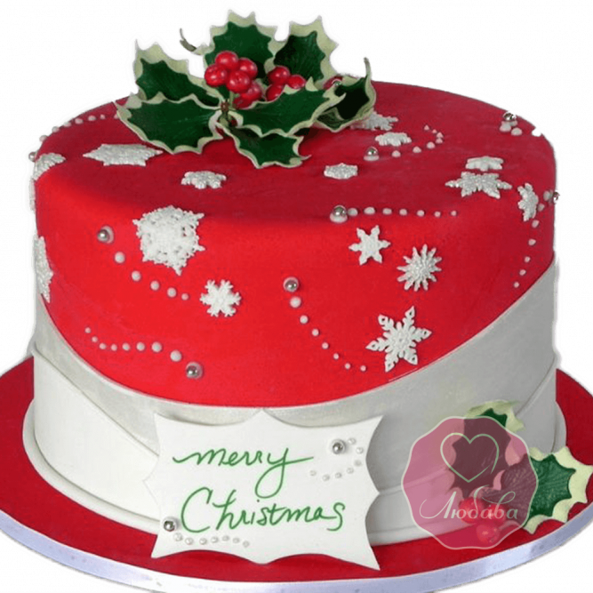 Торт Новогодний и на Рождество №1757
